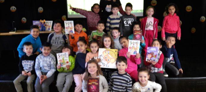 Visita al Colegio Público de Llaranes