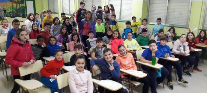 Visita al Colegio Público El Vallín