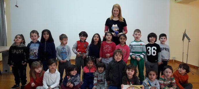 Visita al Colegio Público Marcos del Torniello